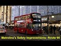 Metroline's Safety Improvements on Route 98