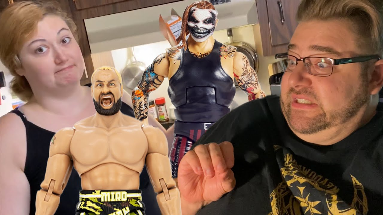 Grim ALMOST Got ELECTROCUTED PLAYING Wrestling Figures!