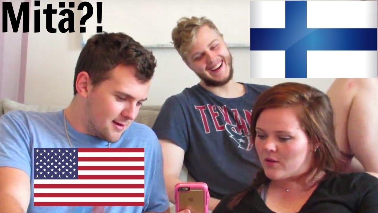 AMERICANS SPEAKING FINNISH   AmeriFinn