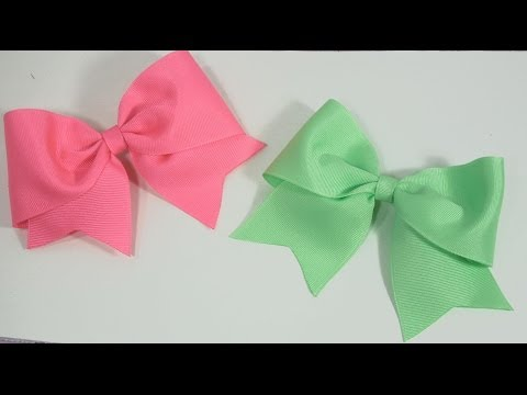 How to make Large Elegant Boutique Hair Bow