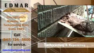 Masonry Chicago | 847-724-5600 | Tuckpointing, Lintel Replacement, Brickwork