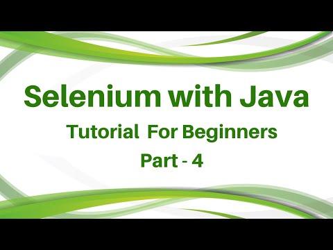 selenium-online-training-day-4-|-selenium-tutorial-full-guide