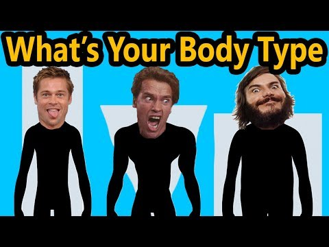 Thumbnail: What's Your Body Type (100% ACCURATE EASY TEST) Ectomorph Mesomorph Endomorph Diet & Workout Shape