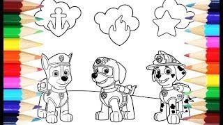 PAW Patrol Coloring Puppies (Щенячий патруль: Раскраска щенков)