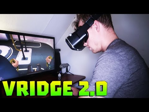 PC VR GAMES ON YOUR MOBILE PHONE • VRIDGE 2.0