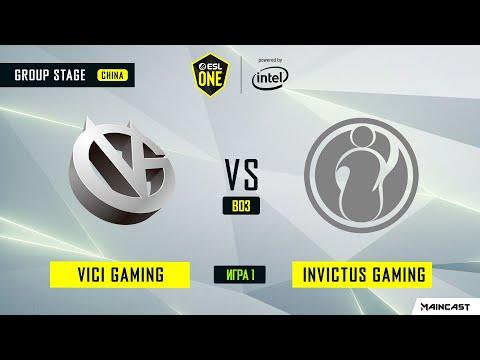 Invictus Gaming vs Vici Gaming vod