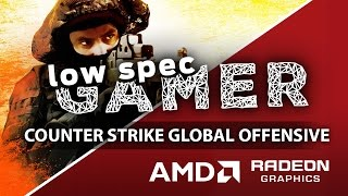 Super low CSGO Graphics on AMD GPUs