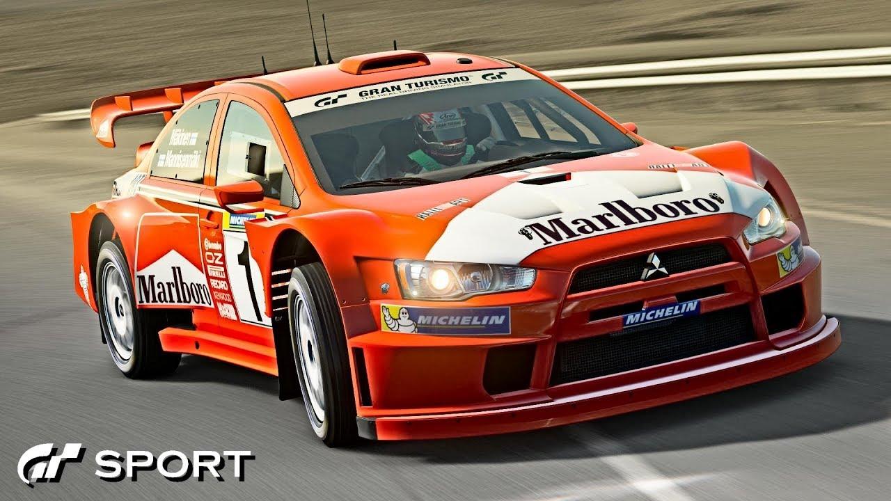 how to make a rally car evo x