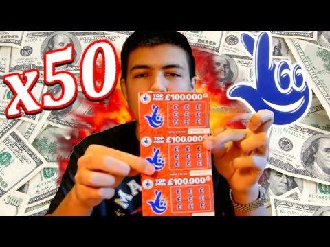 50 SCRATCH CARDS - WINNING TICKET!? - DARE OV!