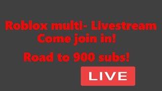 Multi game stream! (ROBLOX)