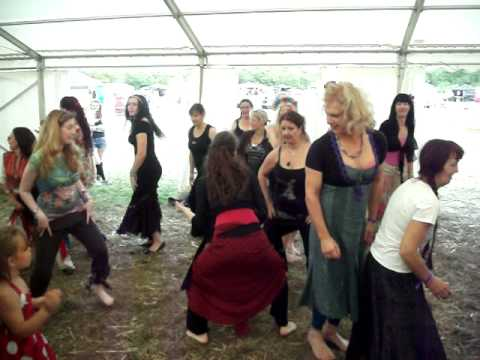 Barefoot Flamenco Workshop at Barefoot Festival 2010
