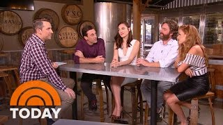'Keeping Up With The Joneses' Cast Shares Behind-The-Scenes Laughs | TODAY