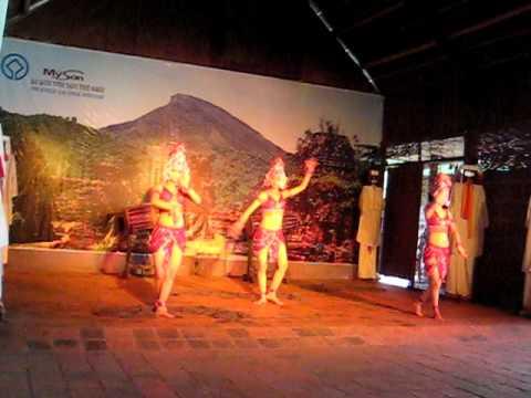 Múa Chăm tại Mỹ Sơn