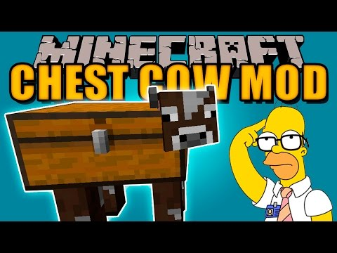 CHEST COW MOD - Vacas con Cofres!! - Minecraft mod 1.11.2 Review ESPAÑOL