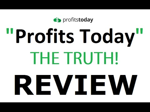 Profits Today Review - Don't Trust! Is Profits Today App by