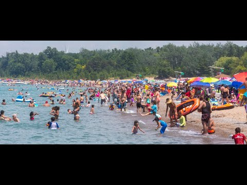 Canada Day At Springbank Park In London And Grand Bend Beach