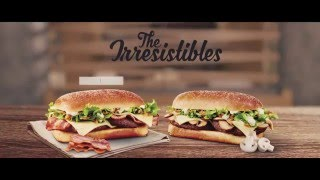 Check out our new advert - simply Irresistible!