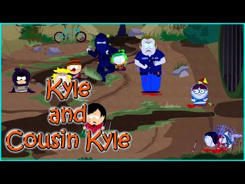 Danger Deck DLC - South Park The Fractured But Whole Game -  Scorched Earth - Kyle  