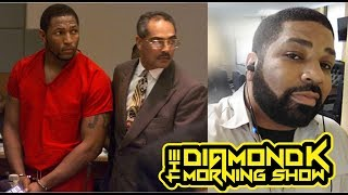 Ray Lewis Lost Touch With Being Black In America || #DiamondKMorningShow
