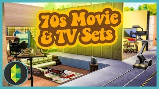 70s TV Show Set BUILD (Sims 4 Build)