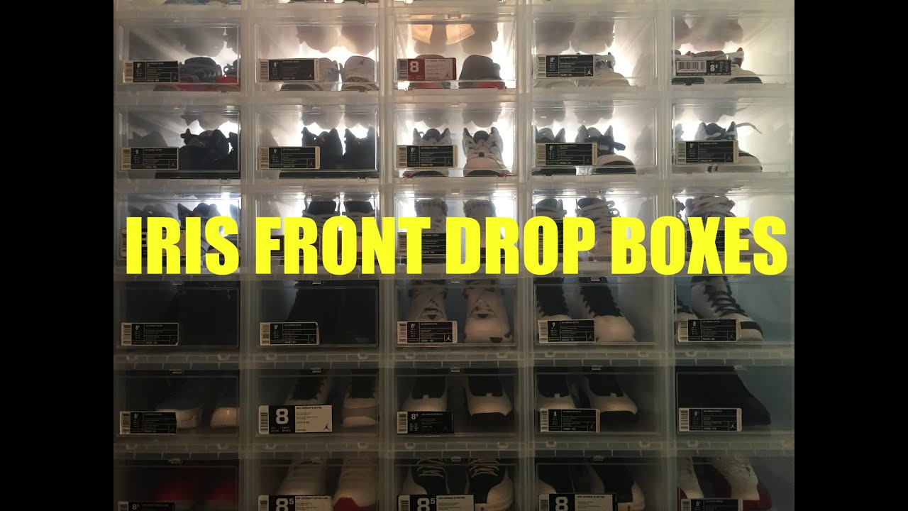 Delicieux Iris Drop Front Storage Box (for Sneakers)   YouTube
