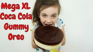 DIY - Mega Gummy Coca Cola Oreo XL - Bibi (Nederlands)