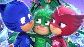 PJ Masks Super Pigiamini 🎄 Buon Natale! 🎄 Nuovi Episodi | Cartoni Animati
