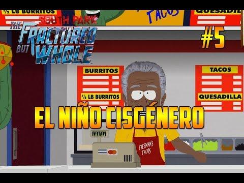 SOUTH PARK - RETAGUARDIA EN PELIGRO   EL NIÑO CISGÉNERO Y MORGAN FREEMAN #4