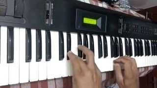 Aaj Purani Raho Se Koi Muje - Organ / Keyboard Music Play