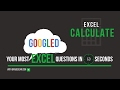 Excel Calculate Option: How to Recalculate Your Excel Formulas Manually Or Automatically