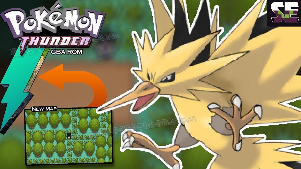 Gba Pokemon Thunder Completed Pokemoner Com