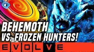 Baixar GLACIAL BEHEMOTH VS. FROZEN 2 HUNTERS!! Evolve Gameplay Stage 2 (NEW EVOLVE 2019 Monster Gameplay)