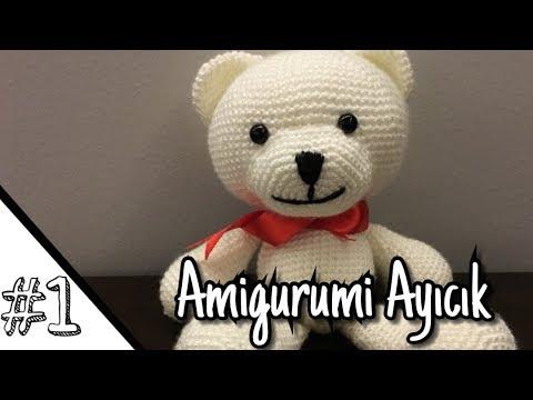 Örgü oyuncak amigurumi ayıcık tarifi türkçe açıklamalı | Amigurumi ... | 360x480