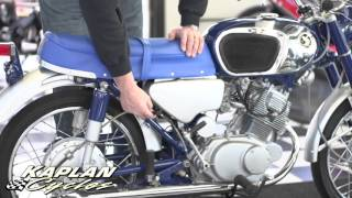 1965 Honda CB160 SuperSport | Kaplan Cycles