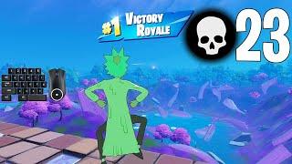 High Elimination Solo Squad Win Season 7 Gameplay Full Game (Fortnite PC Keyboard) screenshot 4