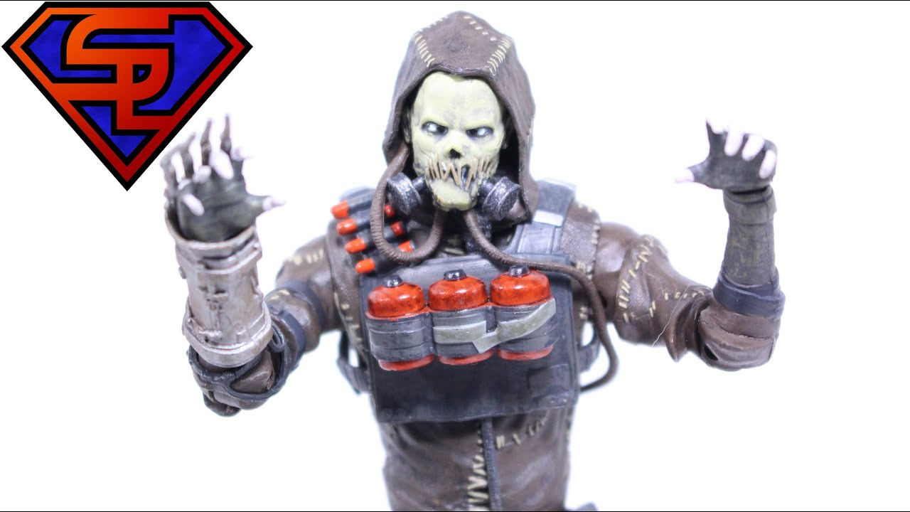 Batman Arkham Knight DC Collectibles Scarecrow Video Game Action Figure Review