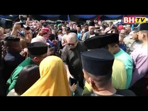 Ribuan hadiri rumah terbuka Sultan Johor