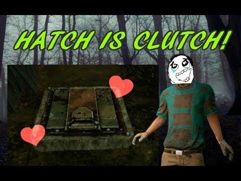 Dead by Daylight (DBD) - HATCH IS CLUTCH!!!! | Macmillan Estate as Dwight