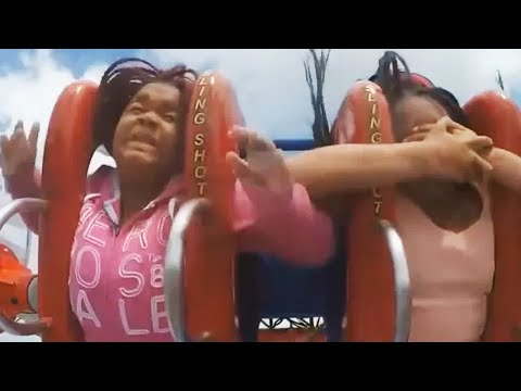 Funniest Roller Coaster reactions