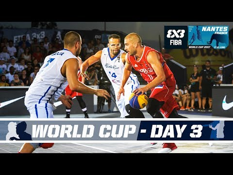 FIBA 3X3 World Cup 2017 – Nantes, France – LIVE – Pool Phase – Day 3
