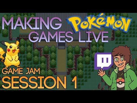 Making Pokemon Games Live (Game Jam Session 1)