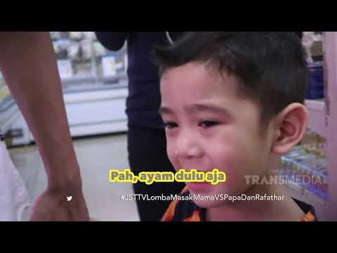 JANJI SUCI - Rafathar Dan Papa Raffi Lomba Masak Lawan Mama Gigi (24/3/19) Part 1