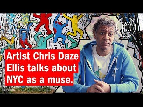 Artist Chris Daze Ellis talks about NYC as a Muse