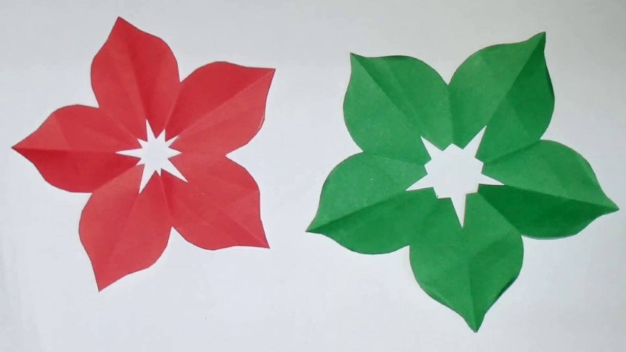 How to make hand cut paper flowers youtube how to make hand cut paper flowers mightylinksfo