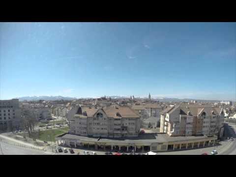 A few hours of Sibiu skyline