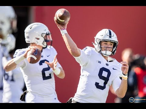 Trace McSorley talks Indiana win, receiver drops, and more: Watch