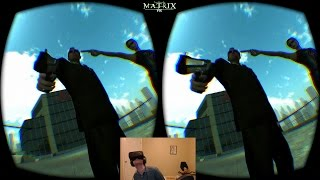 Oculus Rift DK2: The Matrix VR