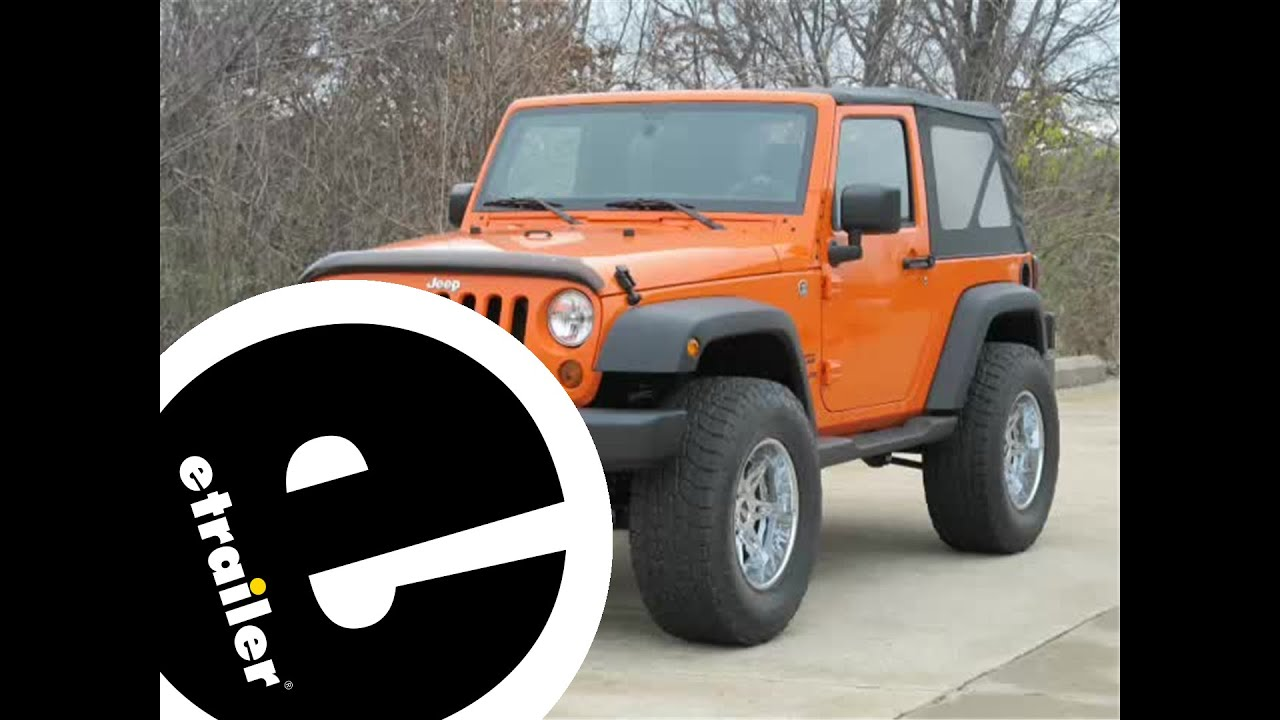 Trailer Hitch Installation   2012 Jeep Wrangler   Etrailer.com