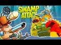 БОЛОТНАЯ Атака #39  БИТВА с БОССАМИ Мультик Игра для детей Swamp Attack БОССЫ #Мобильные игры