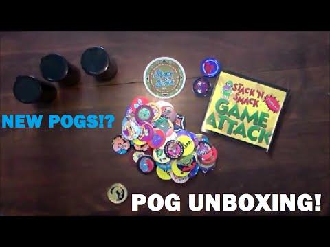 Slamopolis Game Set POG Unboxing